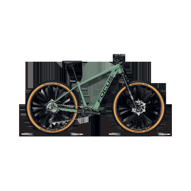 Jarifa2 6.8 Seven Mineral Green DI 2020 - Focus - E-Bike Toscana